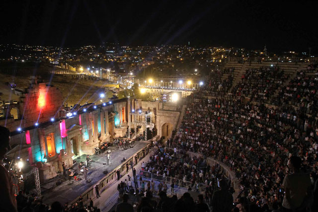 jerash festival moves to capital for  u2018amman evenings