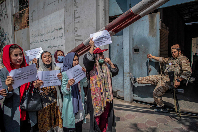 Afghan women outraged by new Taliban restrictions