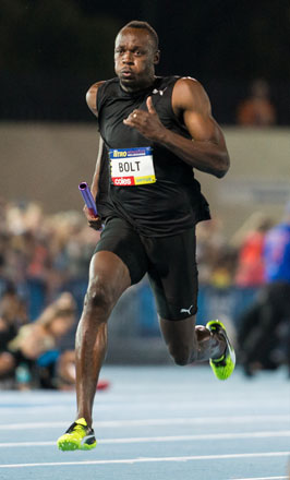 All Star Sprints >> Bolt sprinkles star-dust as athletics goes Hollywood ...