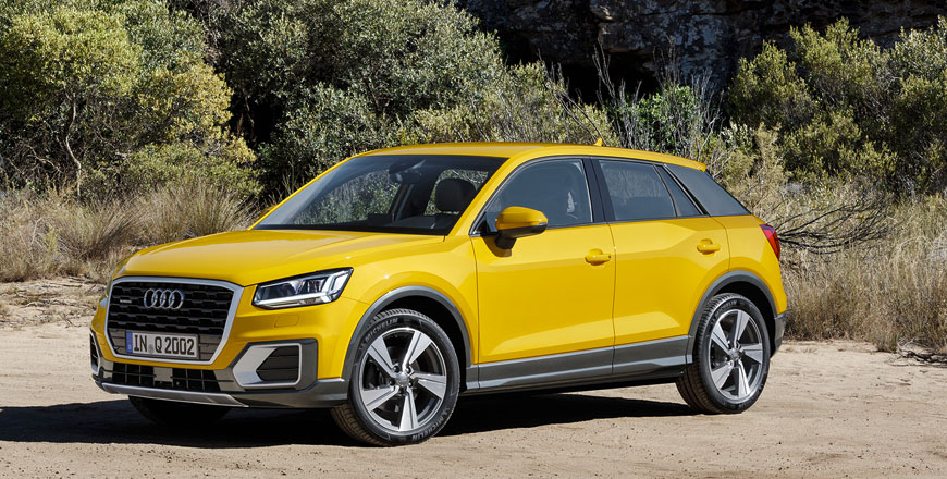 audi q2 35 tfsi downsized yet upmarket jordan times. Black Bedroom Furniture Sets. Home Design Ideas