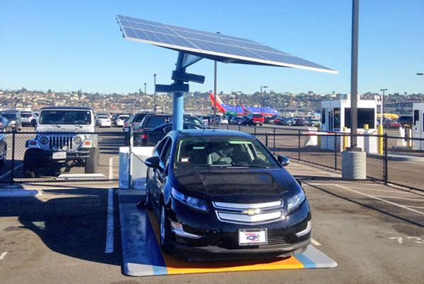 Electric Solar Car Charging Stations To Be Installed Before Year