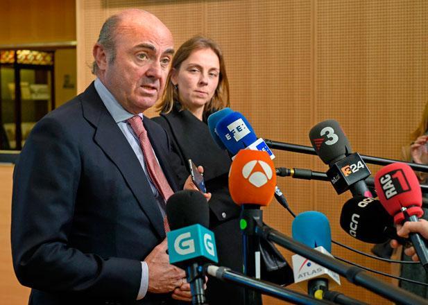 Eu Chooses Spain S De Guindos For Ecb Vice Chair Paving Way For
