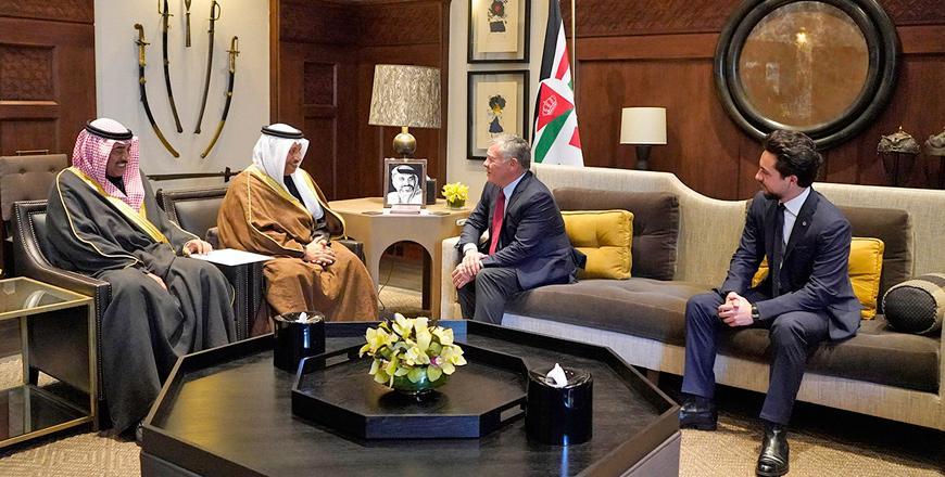 Jordan, Kuwait sign 15 deals in various fields to boost