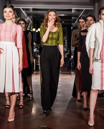 Designer brings essence of jordanian palestinian cultures for Fashion design milano