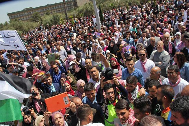 University students rally in support of Jerusalem | Jordan Times