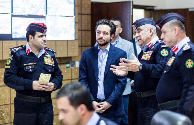 Crown Prince urges better police-youth communication | Jordan Times
