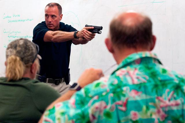 US teachers quietly train to carry guns into school | Jordan