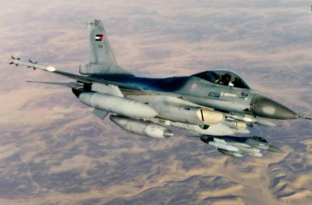 AMMAN –– Royal Jordanian Air Force jet fighters returned home after  launching airstrikes against targets of the so-called Islamic State terror  group. 521af2866