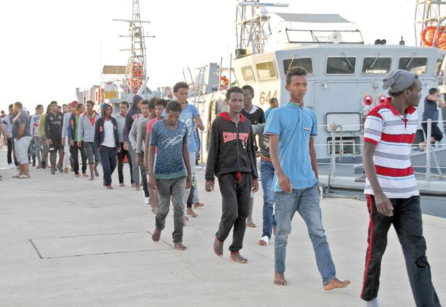 Image result for Children among eight migrants who suffocated in Libya truck