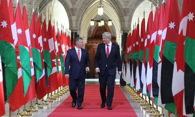 Jordan Canada Agree To Continue Close Cooperation Jordan Times