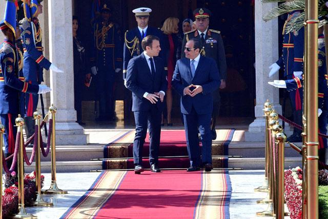 Macron Presses Egypt S Sisi On Respect For Freedoms Jordan Times