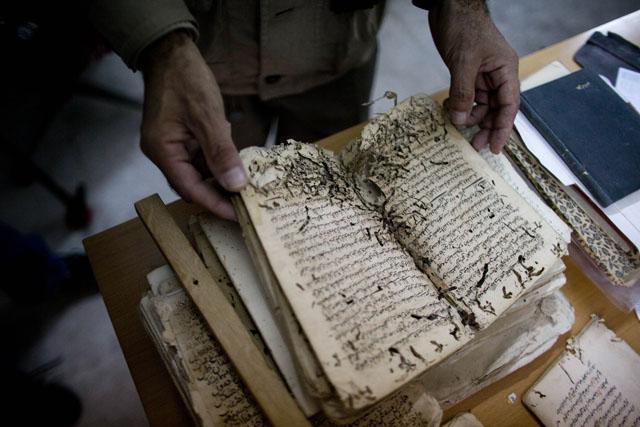 Old Manuscripts Get Facelift At Al Aqsa Mosque Jordan Times
