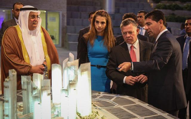 King Inaugurates Abdali Boulevard Tours New Downtown