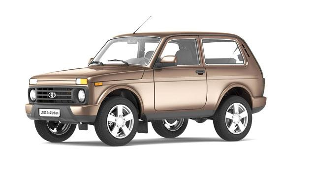 lada 4x4 urban russia s rugged off roader returns jordan times. Black Bedroom Furniture Sets. Home Design Ideas