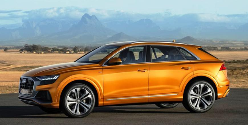 Audi Q8 55 Tfsi Quattro Confident Coupe Redefined As An Suv