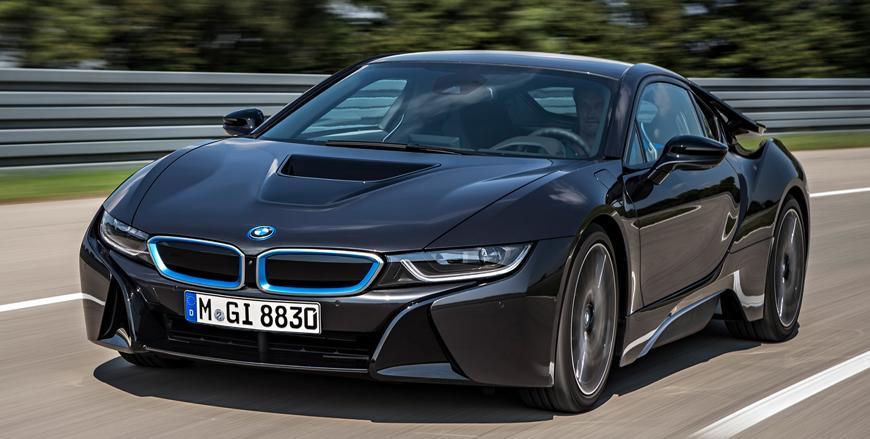 BMW I Spaceage Sports Car Jordan Times - Sports cars bmw