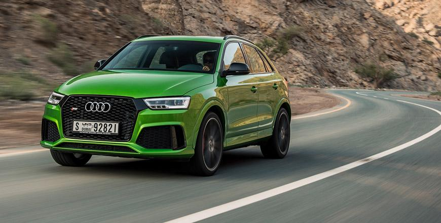 Audi Rs Q3 Performance Punching Above Its Weight Jordan Times