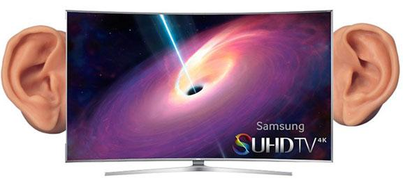 Hush your samsung smart tv might be eavesdropping for Samsung smart tv living room