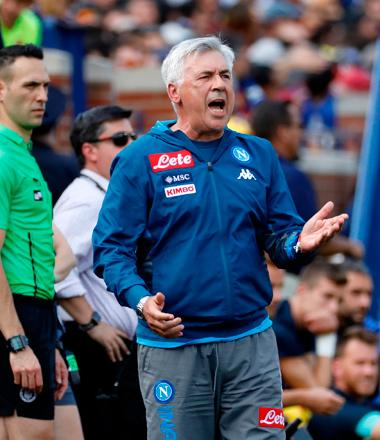 taille 40 14700 1bcfb Serie A coaching shuffle gives Ancelotti's Napoli hope ...