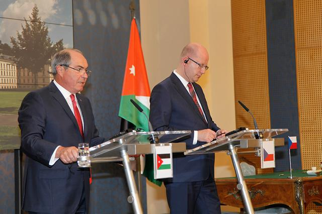 Jordan Czech Republic Draw Roadmap Of Future Cooperation Jordan Times