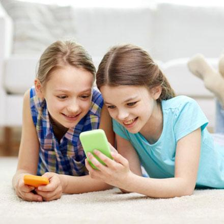 For tween girls, social media use tied to well-being in