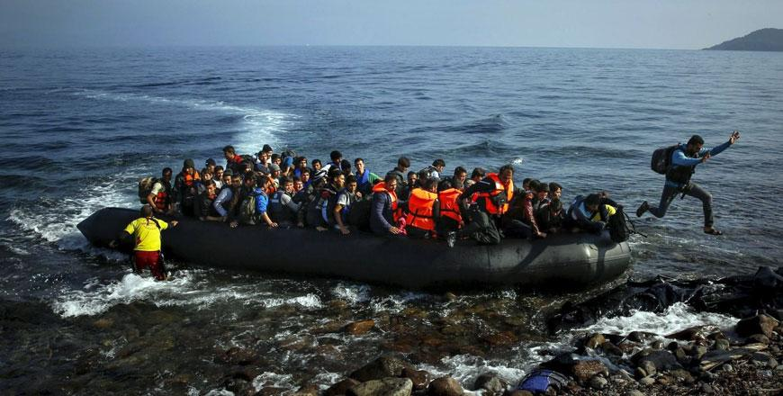 Image result for Fifteen migrants die in boat off Libya, Egyptian survivor says